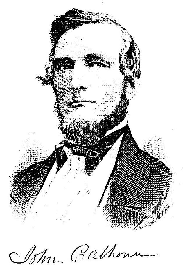 John Calhoun (Andreas, 'History of Chicago')