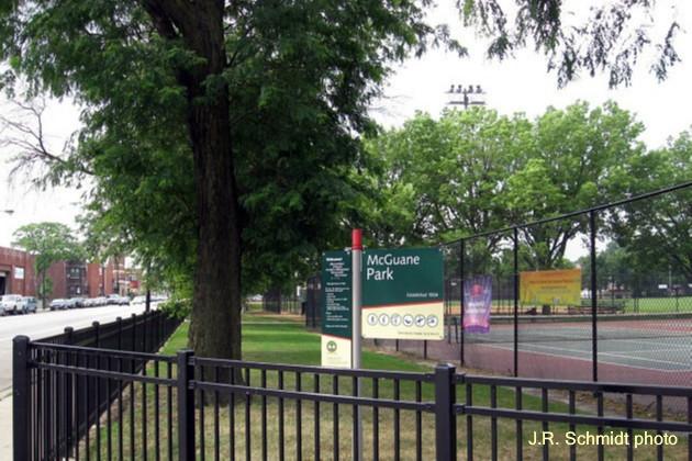 McGuane Park today--'Established 1904?'