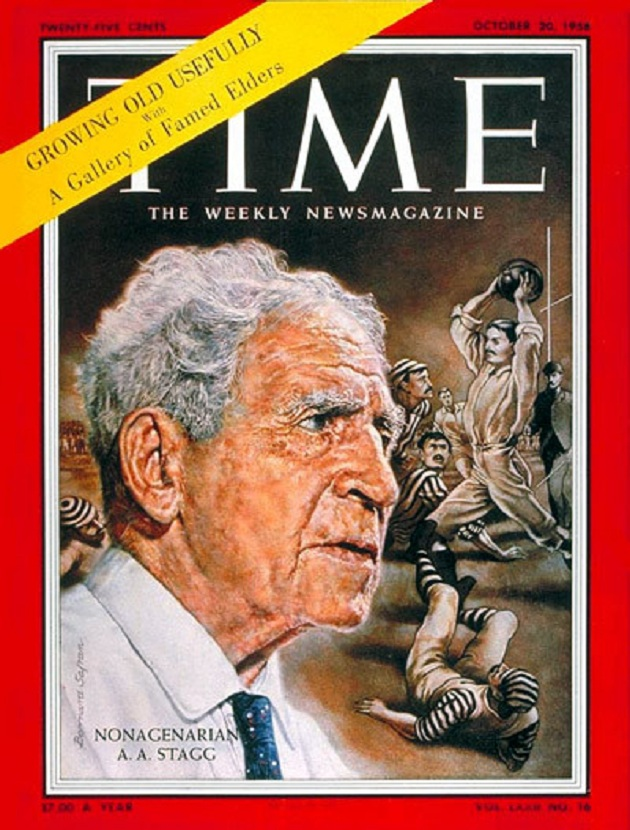 'Time' cover-boy at age 96, 1958