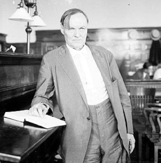 Clarence Darrow, 1924 (Library of Congress)