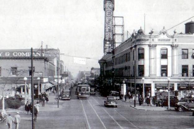 47th Street at South Park Way, 1930s (CTA photo)