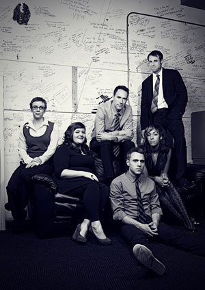 The cast of 'We're All in This Room Together' (The Second City)