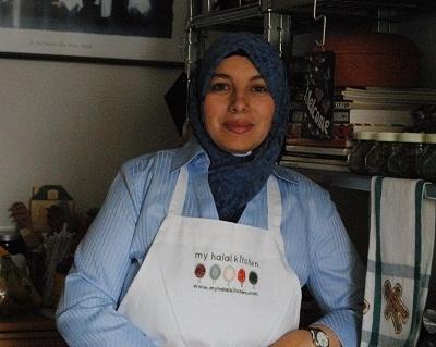 Yvonne Maffei, publisher of 'My Halal Kitchen.' (Image courtesy of the writer)