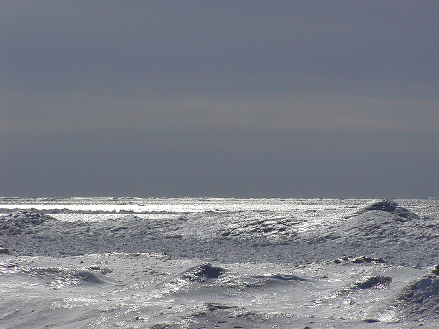Lake Michigan in winter. (Flickr/Q Family)