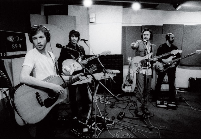 Beck records for public radio with the Flaming Lips.