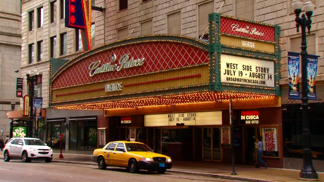 The Cadillac Palace Theatre (WBEZ file)