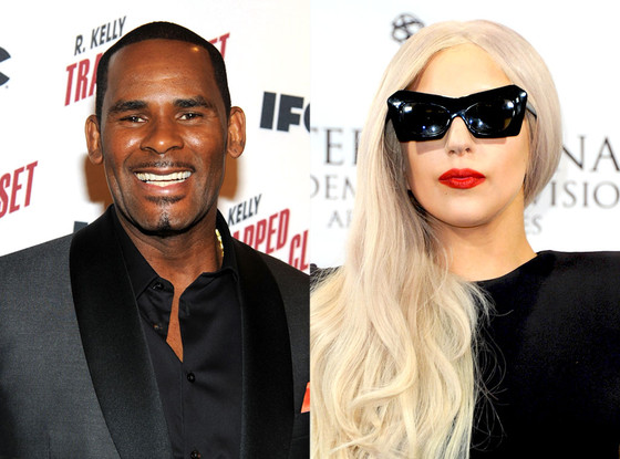 R. Kelly and Lady Gaga. (Andrew H. Walker/Ben Gabbe/Getty Images)