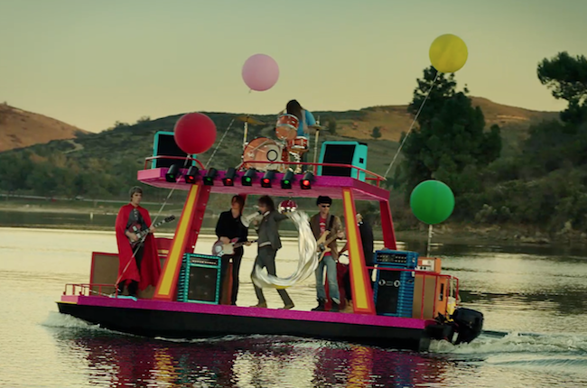 Picture yourself in a boat on a revier, with tangerine trees and Super Bowl ad dollars.
