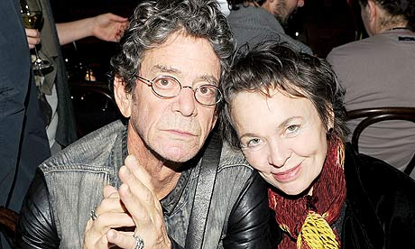 Lou Reed and Laurie Anderson (WBEZ file)