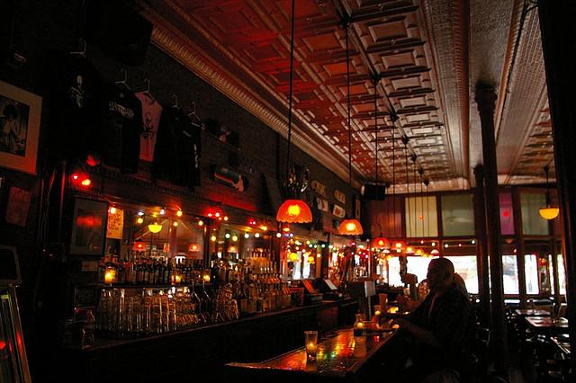 The front bar at Maxwell's (Jason Saldanha).