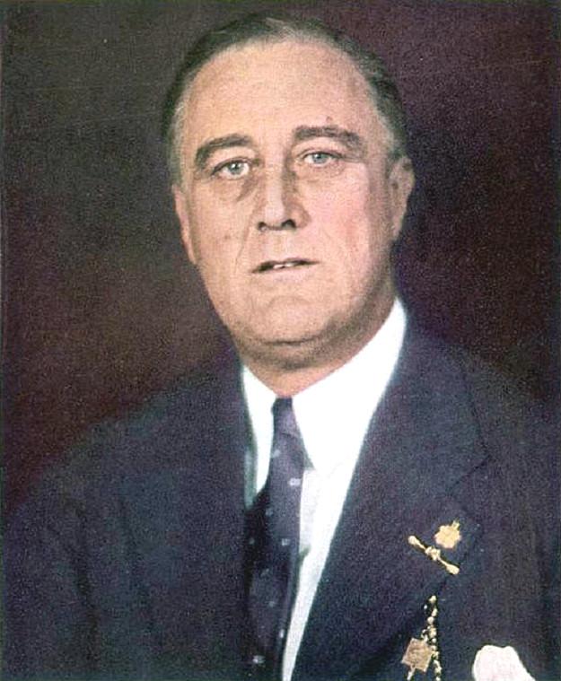 President-elect Roosevelt, 1933 ('Time')