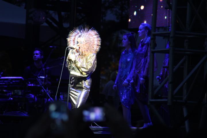 Björk (WBEZ/Andrew Gill)