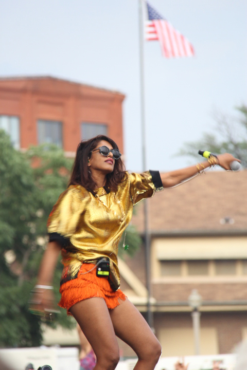 M.I.A. (WBEZ/Andrew Gill)