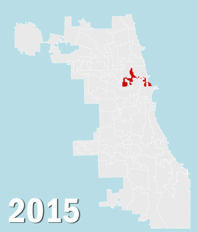 Chicago City Council Wards, 2015 (Source: City of Chicago)