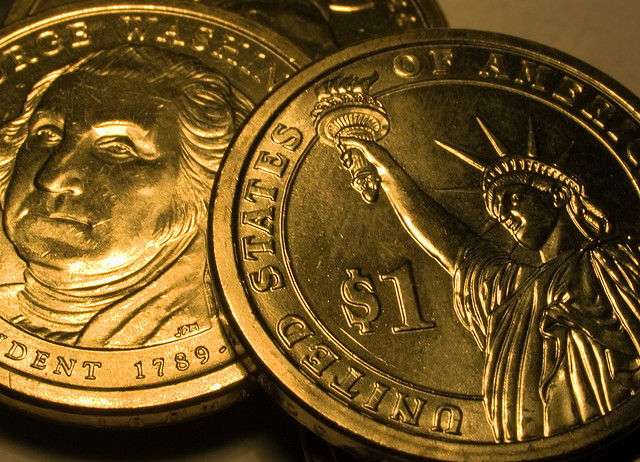 The hated, if wildly collected, dollar coin. (Flickr/Joe Rudd)