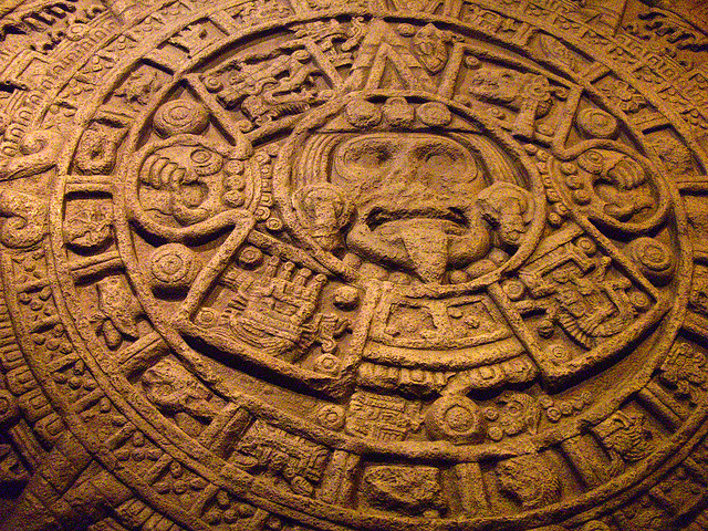 Mayan Calendar - Aztec Stone of the Sun, on display at the Field Museum (flickr/insert screen name here)