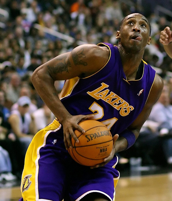 Kobe Bryant in 2007. (Flickr/Keith Allison)