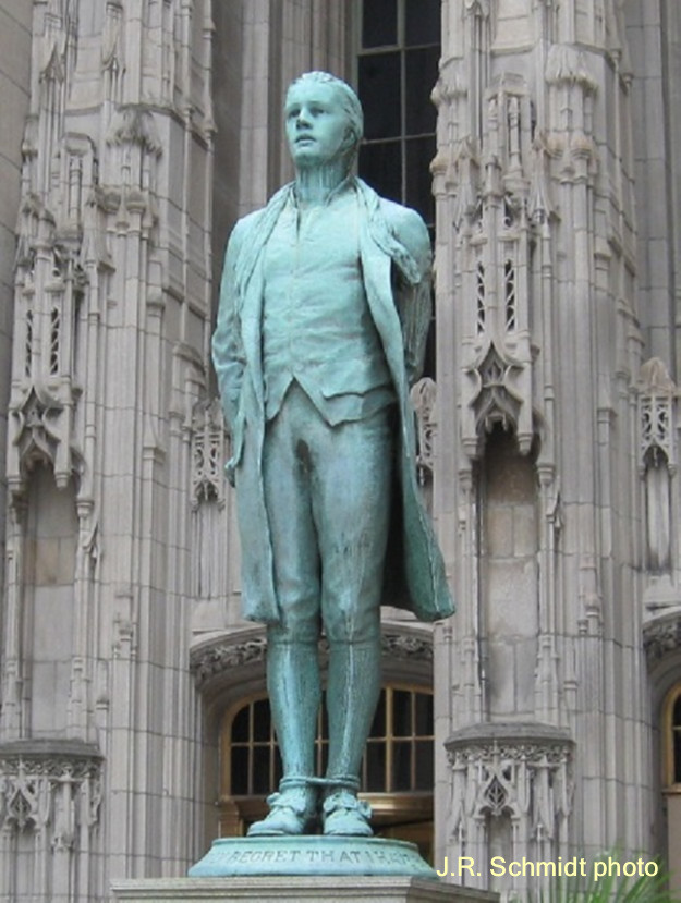 'Nathan Hale'--435 N. Michigan Ave.