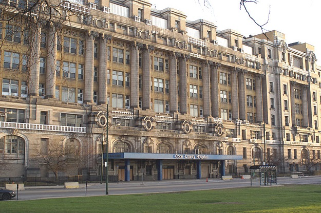 Cook County Hospital (Jeff Dahl photo, Wikipedia Commons)