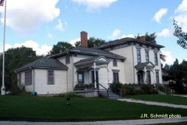 Mark Noble's 1833 farmhouse