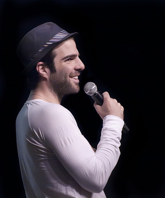 The actor Zachary Quinto (Flickr/Beth Madison)
