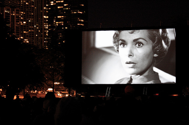 'Psycho' at the 2009 Chicago Outdoor Film Festival. (Flickr/Laurie Chipps)