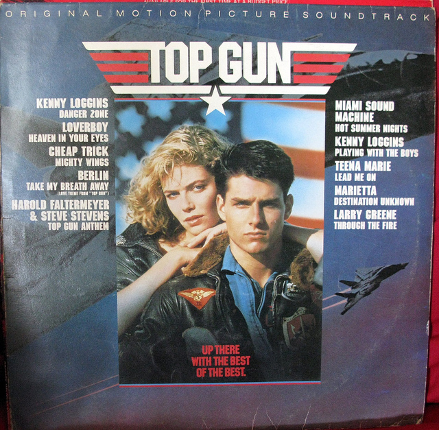 The soundtrack to 'Top Gun.' (Flickr/Tilemahos)
