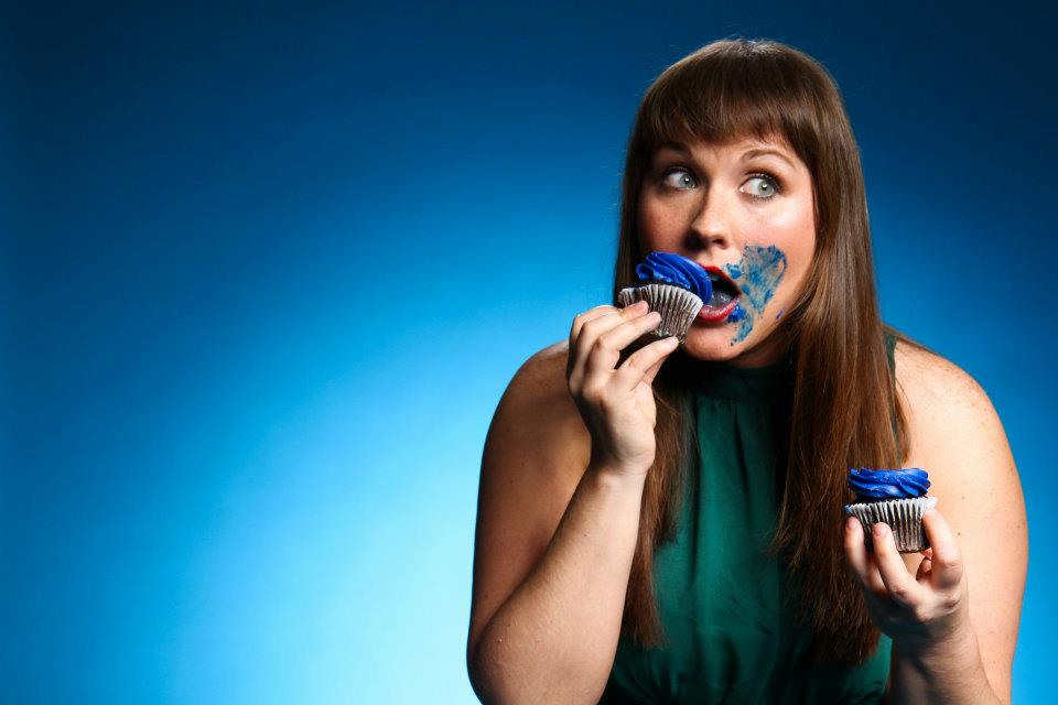 Kelsie Huff, in a promotional photo for 100 Proof Comedy. (Courtesy of Johnny Knight)