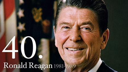 Former president Ronald Reagan. (File/WhiteHouse.gov)