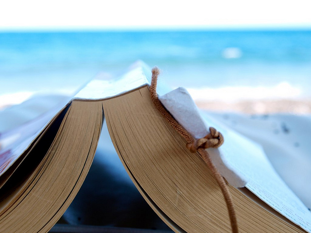 The best beach reading this summer is all about the movies. (Flickr/Simon Cocks)
