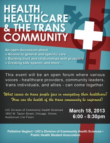 (In Our Words) Flier for forum