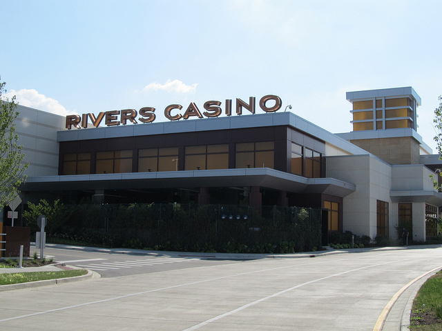 The Rivers Casino in Des Plaines, IL opened in 2011.(Flickr/Jeff Zoline)
