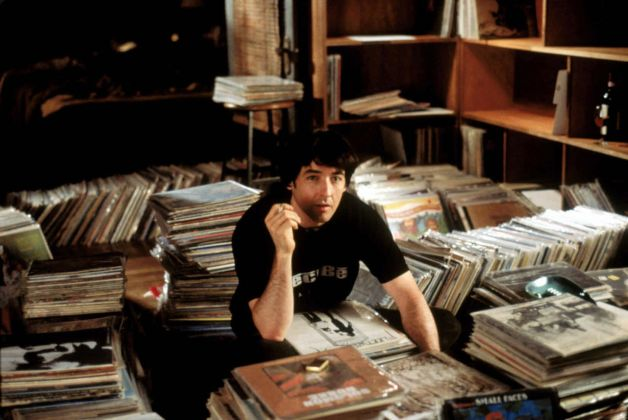 "John Cusack in the Chicago-filmed adaptation of the Nick Hornby novel, ""High Fidelity.""  (Touchstone Pictures)"