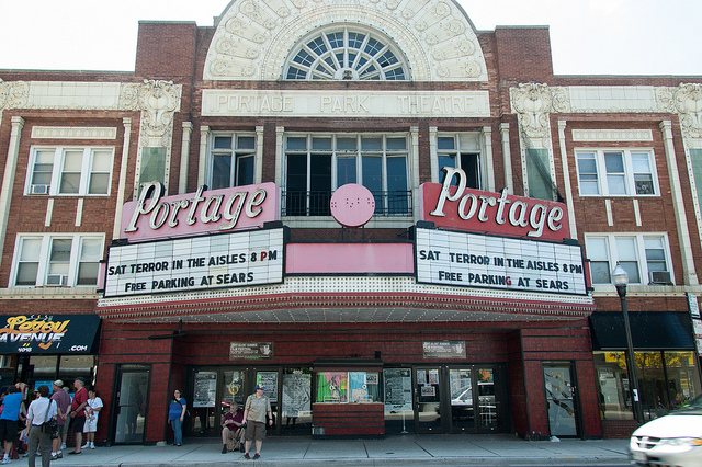 The Portage Theater (reallyboring, Flickr/Creative Commons).