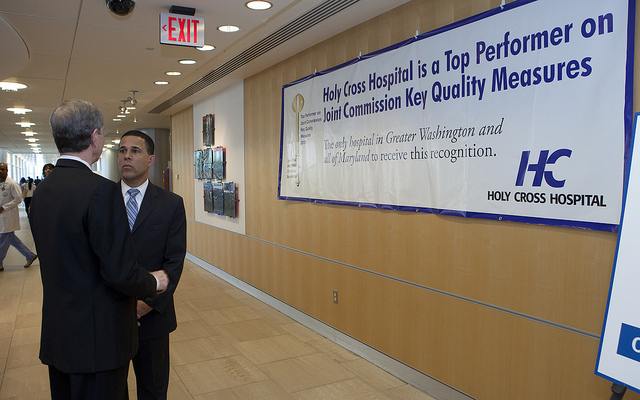 Maryland Lt. Governor Anthony Brown announced in February that all 46 acute care hospitals in the state now share information thru the state-wide Health Information Exchange program. (Flickr/Maryland Government)