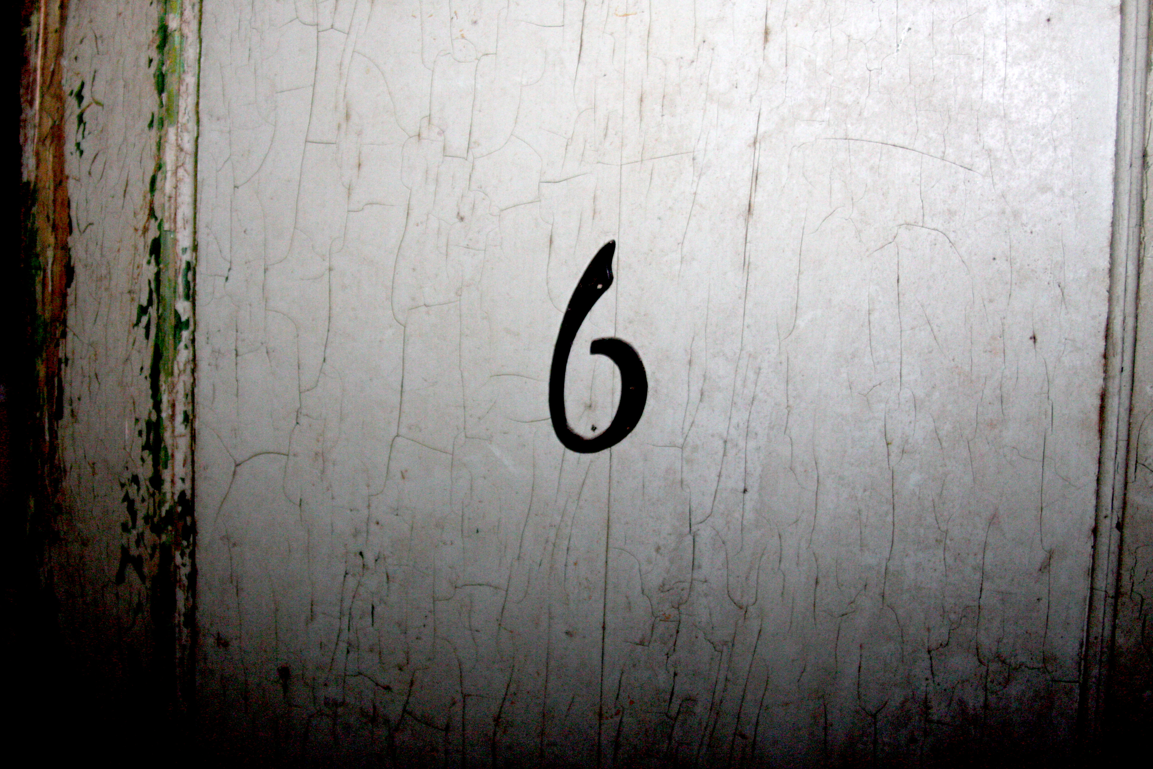 The legendary door number six. (WBEZ/Logan Jaffe)