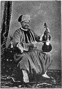 Algerian musician, 1893 World's Columbian Exposition