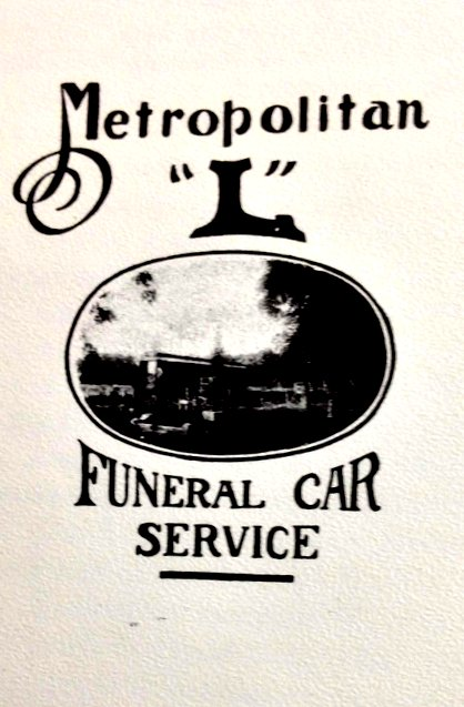 A collection of images we collected about funeral 'L' cars and public transit and life's end. (Courtesy of Bruce Moffat)