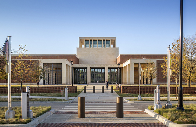 George W. Bush Presidential Center (Peter Aaron/Otto for Robert A M Stern Architects)