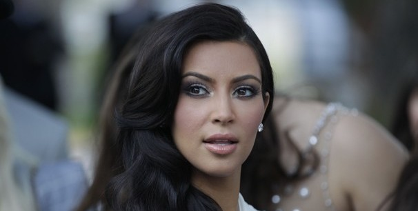 Kim Kardashian in Monaco before her temporary nuptials. (AP/File)