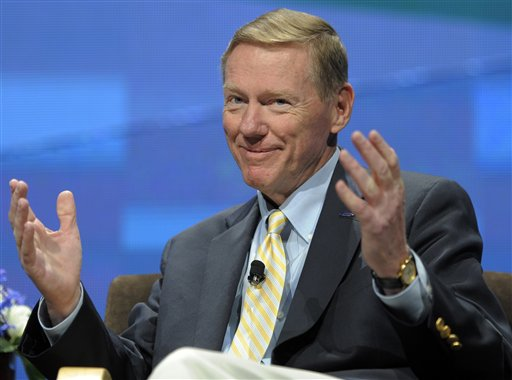 Ford Motor CEO Alan Mulally is one of the country's top-earning top executives. (AP/Jack Dempsey, File)