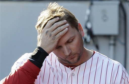 A rough end to the season for A.J. Pierzynski and the Sox (AP Photo/Nam Y. Huh)