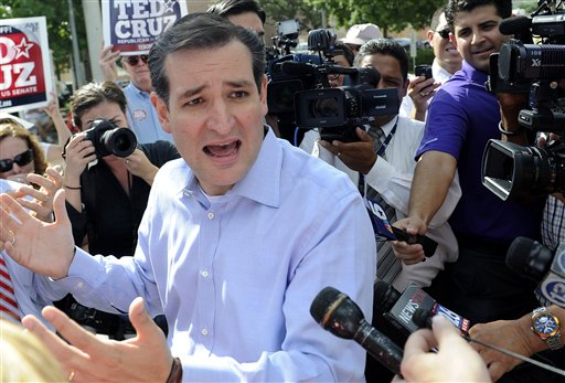 U.S. Senate GOP nominee Ted Cruz (AP/file)