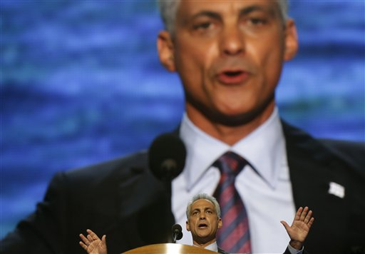 Mayor Emanuel rules over all, lords over none (AP Photo/Charles Dharapak)