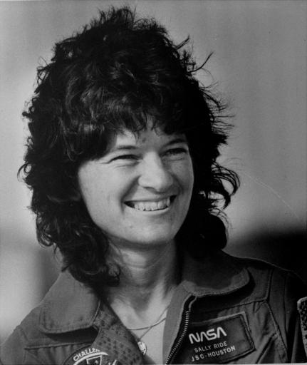 Astronaut Sally Ride (AP/file)