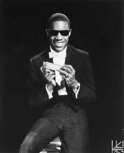 Stevie Wonder, seen in this undated publicity photo, started his career at a very young age. (AP/File)