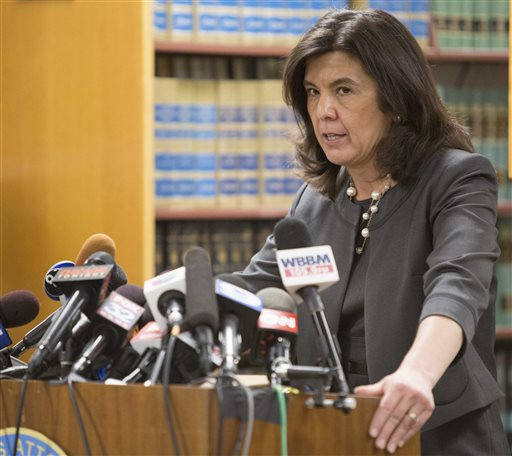 State's Attorney Anita Alvarez, the first woman and first Hispanic to serve as Cook County State's Attorney, was facing a tough 2016 re-election even before the footage of Officer Jason Van Dyke shooting Laquan McDonald 16 times in October 2014 became public. Since then, a majority of the City County's Latino aldermen and U.S. Rep. Luis Gutierrez, key political supporters, said they'll no longer back her. (AP Photo/Teresa Crawford)
