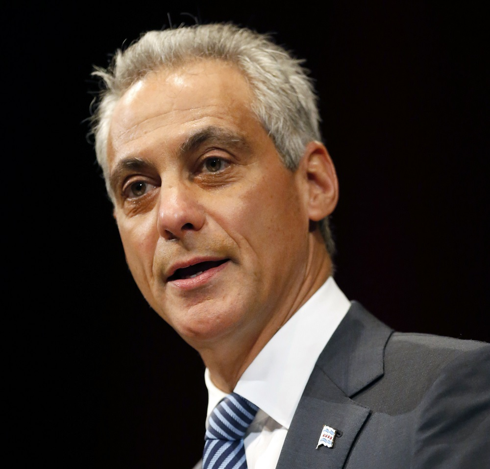 Chicago Mayor, Rahm Emauel. (AP Photo/Charles Rex Arbogast)