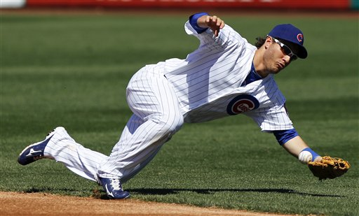Anthony Rizzo at Cubs spring training in 2012. (AP/Chris Carlson)
