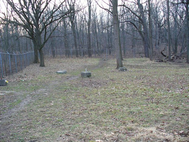 Bachelor's Grove Cemetery (Photo by Maureen Searcy)